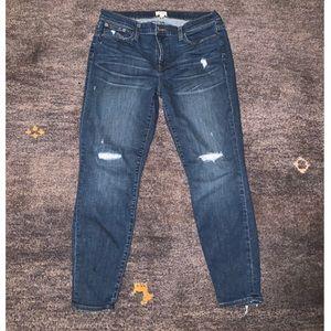 J Crew toothpick skinny jeans 👖